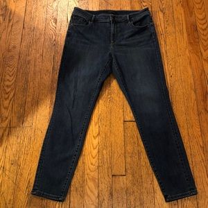 Ann Taylor Skinny Curvy Fit Jeans Size 12